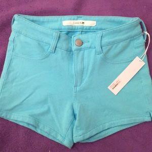 NWT Joe's Blue Shorts Girls Stretchy Soft